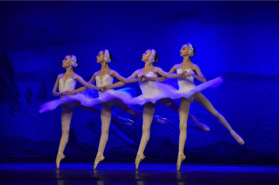 乌克兰基辅儿童芭蕾舞团携《天鹅湖》来乌首演。