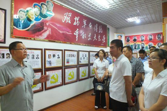 八旬老党员自创红色教育基地 资金累超30多万