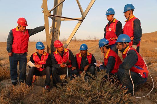 国网新疆电力立足优质服务,加强增供扩销。(资料图)