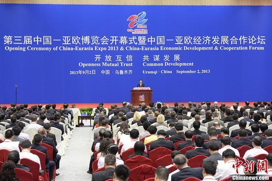 中国―亚欧博览会历届回顾