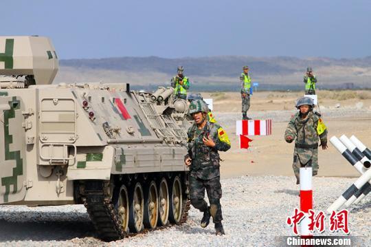 国际军事比赛2018安全路线工兵分队单项赛中国夺魁