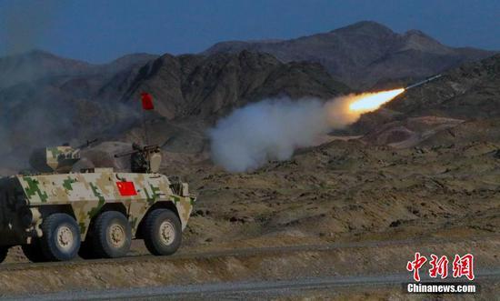 """看导弹如何精准打击 """"晴空""""防空导弹兵多能赛开赛"""