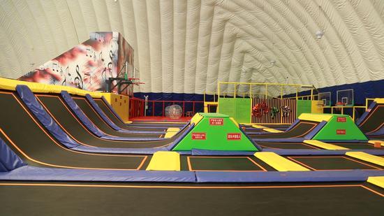 乌鲁木齐穹顶运动体验馆再添新项目