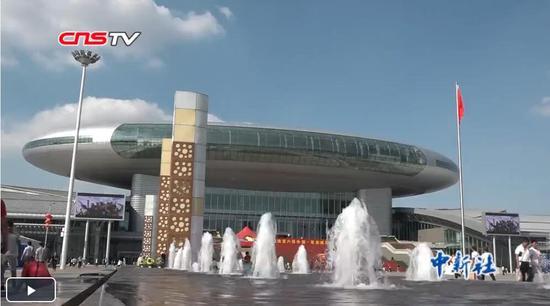 胡春华出席第六届中国-亚欧博览会开幕式并致辞