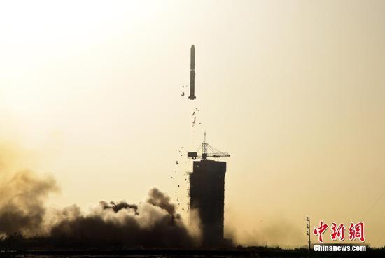 中法合作研制首颗卫星中法海洋卫星成功发射
