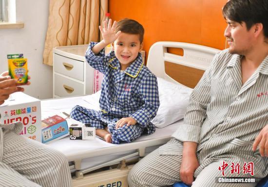第四批阿富汗先心病患儿在新疆治愈即将回国