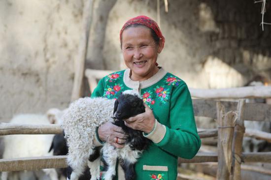 从20只扶贫羊到39只 贫困户村民家中一年的转变