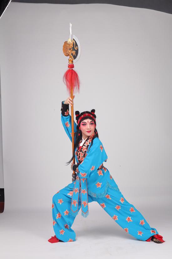 《劈山救母》李琼瑶。主办方提供