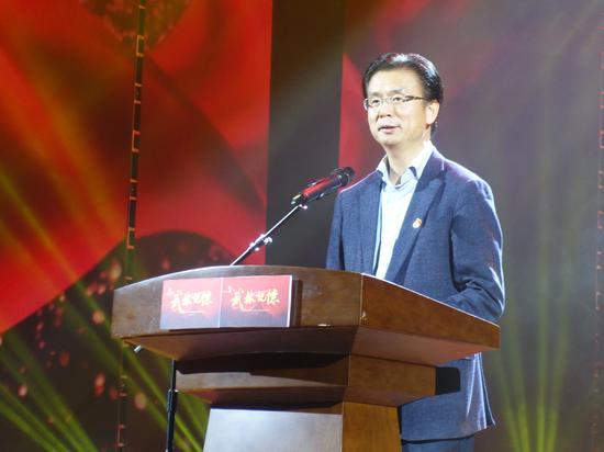 杭州市下城区委书记刘颖致辞。  钱晨菲 摄