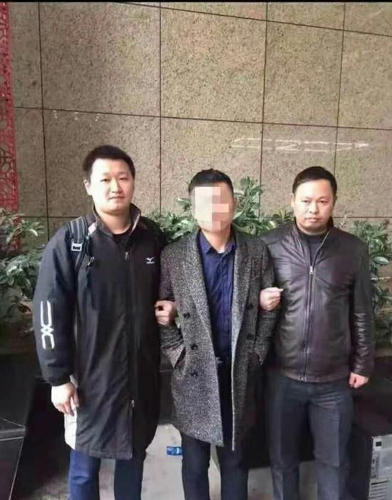 抓获犯罪嫌疑人。常山县公安局提供