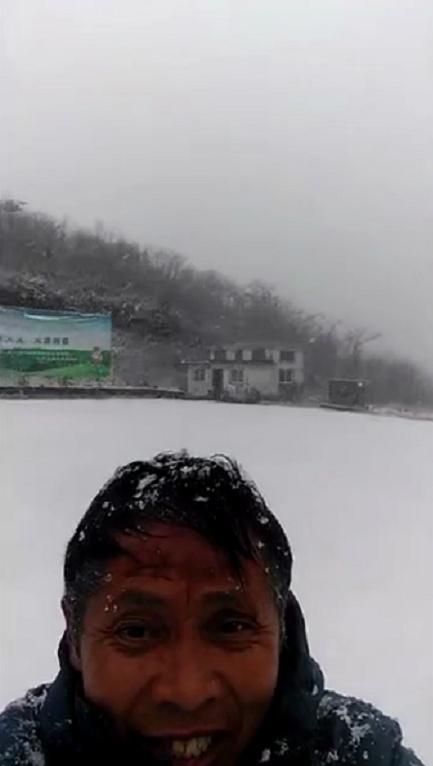 雪景。刘光兵 摄