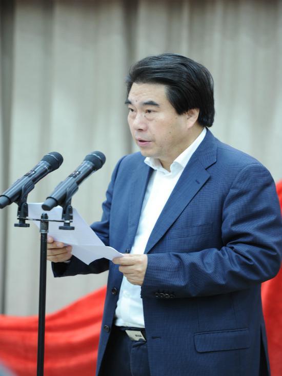 浙江出版传媒股份公司总经理朱勇良。 王刚 摄