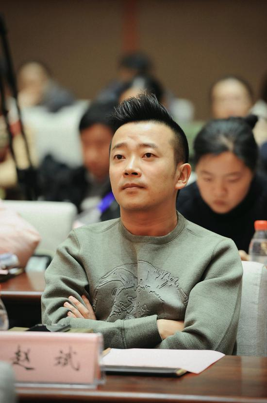 慈文传媒副总裁赵斌。 王刚 摄