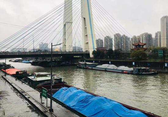 京杭大运河。张斌 摄