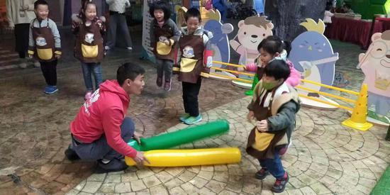 "Do都城体验馆幼儿专享月""同心飞扬赋能未来""活动现场  主办方提供"