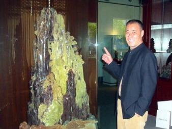 石雕创作要充满激情——访中国工艺美术大师