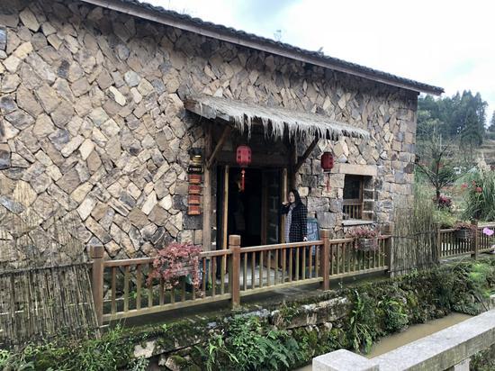 在赵氏宗祠基础上建成的下石庄文化礼堂 潘沁文 摄