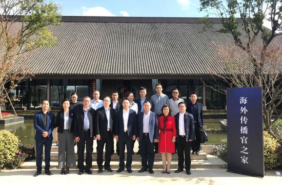 浙江省侨联调研组赴温州开展调研。 浙江省侨联提供