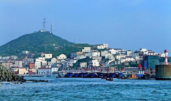 图为:嵊泗县海岛风貌。  吴勇韬 摄