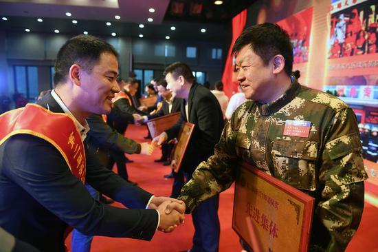第二届浙江119消防奖颁奖仪式在浙江杭州举行