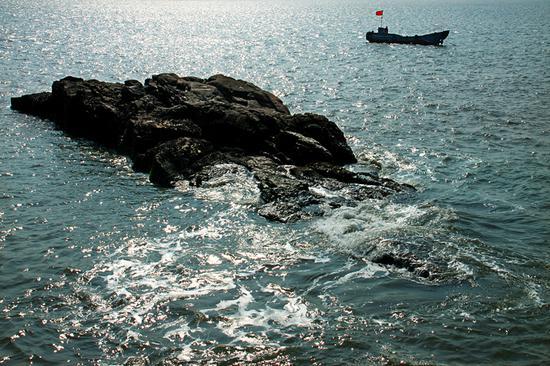 图为:嵊泗县海洋环境。  吴勇韬 摄