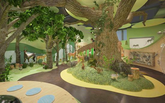 儿童探索教室  浙江自然博物馆供图