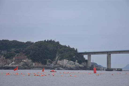 本次比赛赛程约700米 。 洞头区委宣传部供图