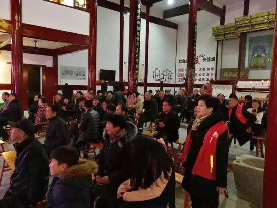 大塘文化礼堂 藤桥镇供图
