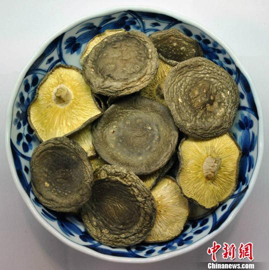 庆元香菇。 庆元宣传部提供