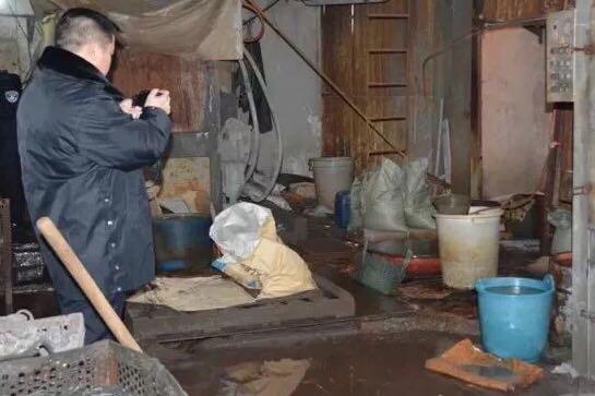 环境执法现场。浙江省生态环境厅供图