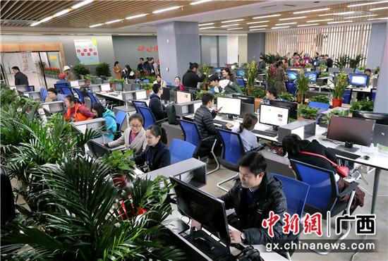 横县融媒体中心。  余道锋 摄