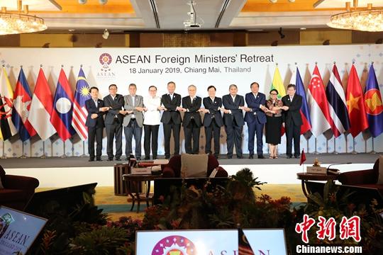 东盟国家外长非正式会议在泰国清迈举行