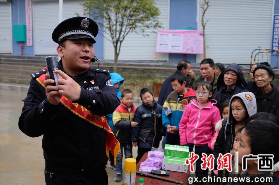 法制宣传走进广西侗乡