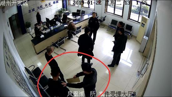 """浙江一盗窃案犯罪嫌疑人陪朋友去警局""""打酱油""""被抓"""