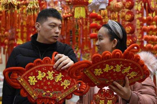 春节将至 新疆克拉玛依年味浓