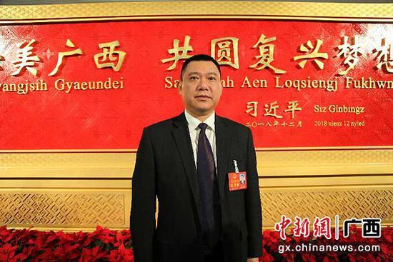 图为三江县委书记邝驱。杨志雄  摄