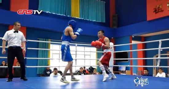 探访新疆国际拳击训练营 拳击手备战2020年东京奥运会