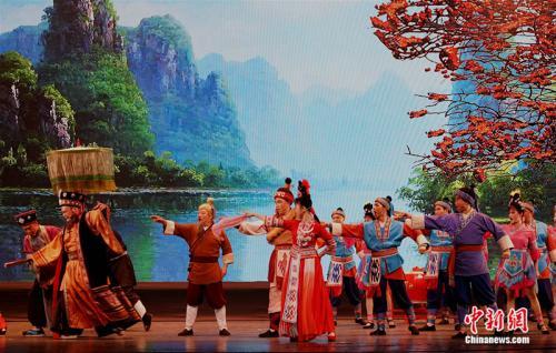 """""""美丽中国·心仪广西""""歌仙刘三姐对歌对到马尼拉"""