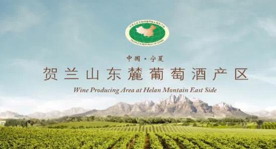 图为贺兰山东麓葡葡酒产区宣传图。   供图