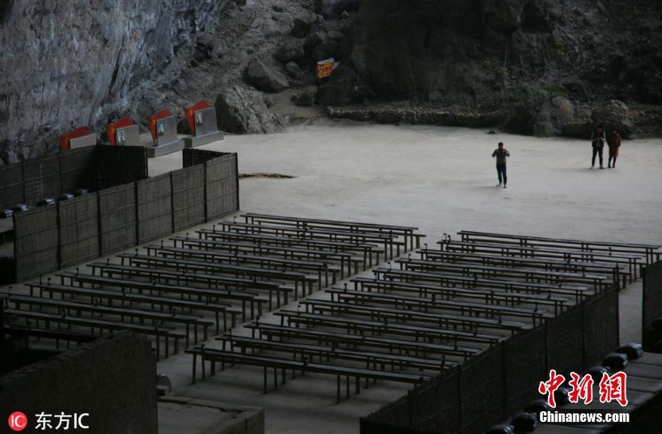 广西深山洞窟复原昔日革命培训基地 可容千人