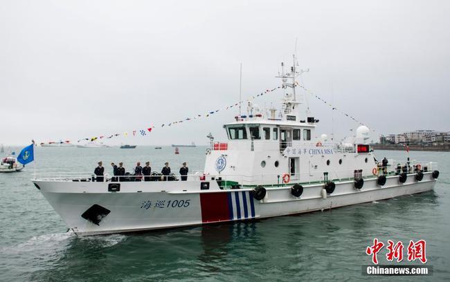 广西加强海事巡航救助能力 两艘新船列编