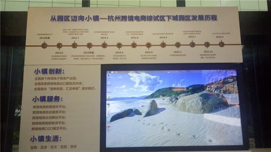 圖為杭州綜試區下城園區。  張煜歡 攝