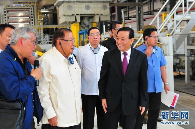 老挝国家主席希望中企助力民众致富