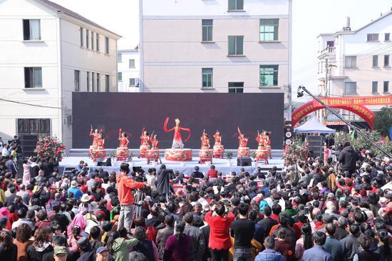 茶花节开幕式。婺城区委宣传部提供
