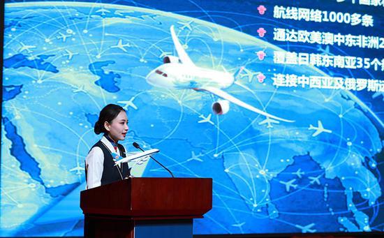 新航季南航计划执行涉疆航线101条,涉及新疆市场的通航点达到79个。张思维摄