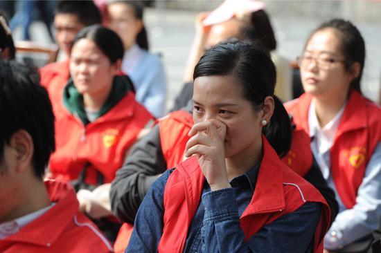 2019年杭州清明通气会暨杭州殡仪馆开放日现场。张茵 摄
