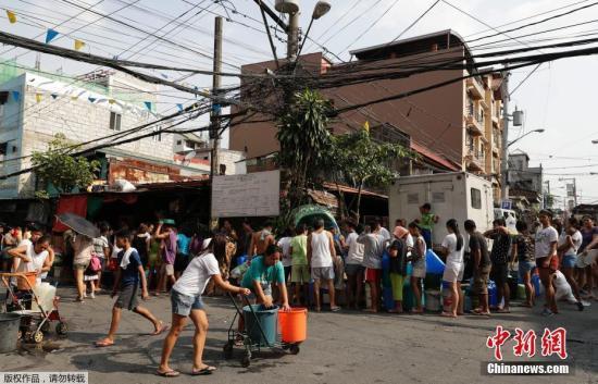 菲律宾首都严重缺水危机暂纾解 已恢复9成供水