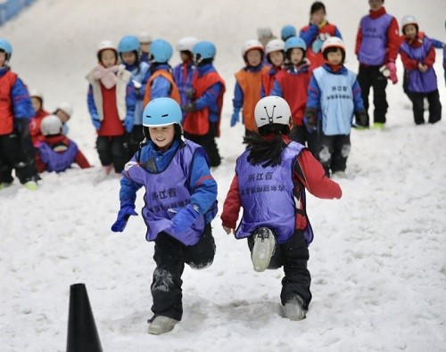 第三届浙江省冰雪运动嘉年华绍兴开启 相约冰雪盛会