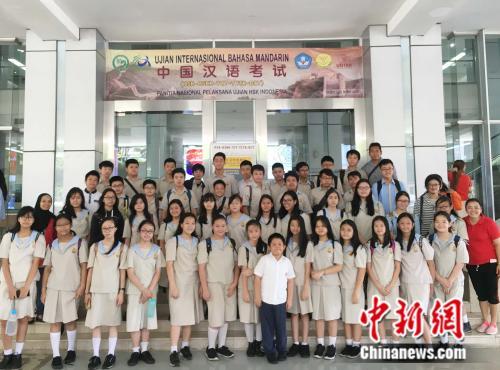 6000余人参加今年印尼全国首次汉语考试