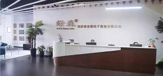 綠森電子商務有限公司 龍灣宣傳部供圖